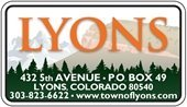 Town of Lyons, Colorado