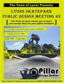 Lyons Skatepark Public Design Meeting 2