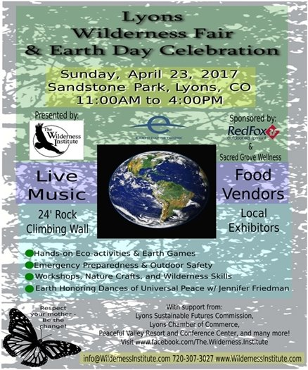 Lyons Wilderness Fair & Earth Day Celebration