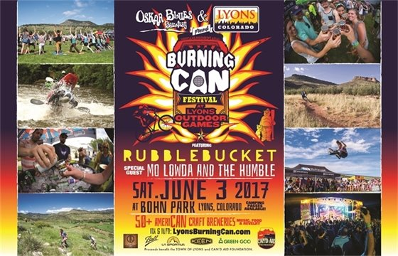 Burning Can at Lyons Outdoor Games