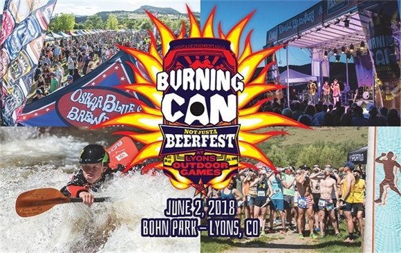 2018 Burning Can at Lyons Outdoor Games